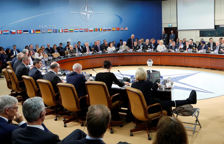 Cimeira dos Ministros da Defesa da OTAN. Bruxelas. 26 de Outubro de 2016.