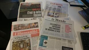 Diários franceses 05.04.2016