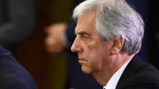 Le président uruguayen Tabaré Vazquez.