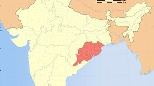 The Indian state of Orissa.