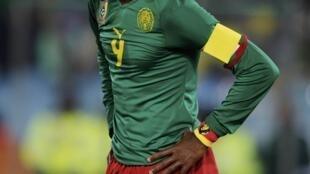 Samuel Eto'o n'avait encore jamais perdu contre le Sénégal.