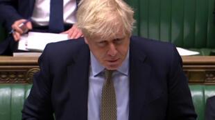 Le Premier ministre britannique a dû faire face aux critiques de l'opposition lors d'une séance difficile au Parlement. (photo d'illustration)