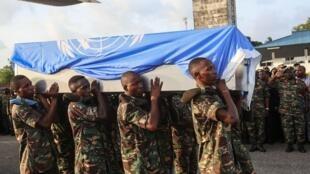 Miili ya wanajeshi wa Tanzania waliouawa nchini DRC ikiwasili Dar es salaam