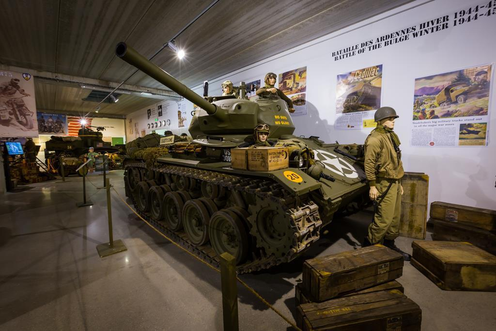 Tanks and vehicles from the Tank Museum in Normandy will be auctioned this September.
