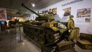 Tanks and vehicles from the Tank Museum in Normandy were auctioned on September 18.