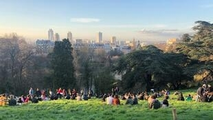 Buttes Chaumont PickNicks 2 Sunday 15th March 2020