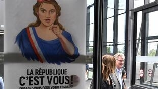 French High Commissioner for Pension Reform, Jean-Paul Delevoye, in Bordeaux at a gathering of the ruling La Republique en Marche in Bordeaux.