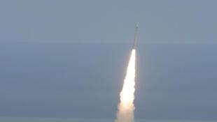 Une fusée «Vega» décolle de la base de l'Agence spatiale européenne de Kourou.