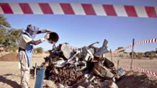 Au Mali, un démineur du service de la lutte anti-mines des Nations unies (UNMAS).