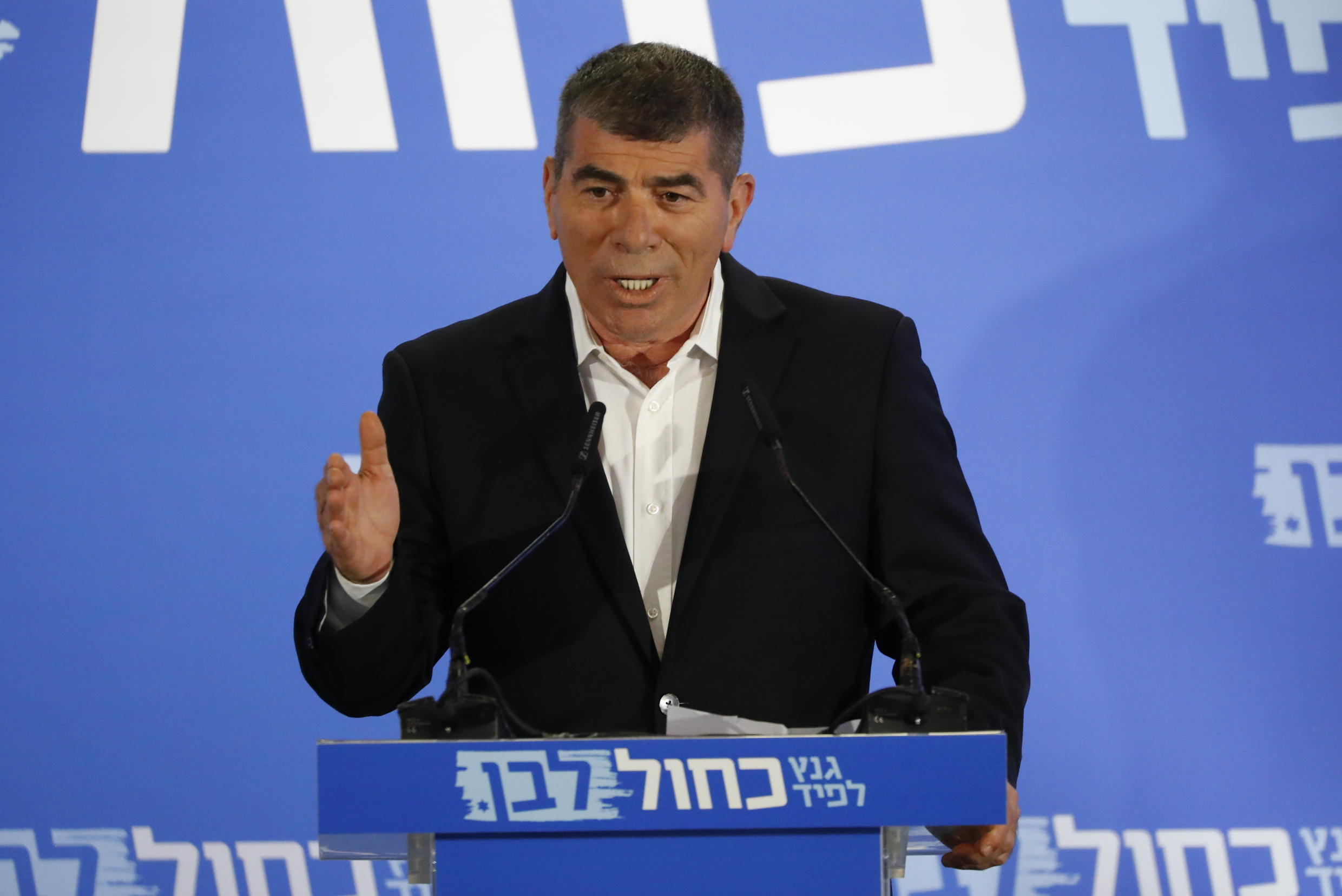 A file picture of Gabi Ashkenazi, who became the Jewish state's top diplomat when a new unity government was sworn in on Sunday
