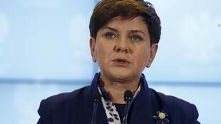A primeira-ministra da Polônia, Beata Szydlo, vai ser sabatinada hoje(19) pelo  parlamento europeu.