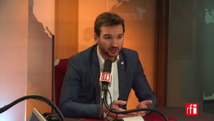 Ugo Bernalicis sur RFI, le 24 janvier 2018.