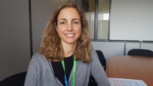 Natalia Uribe Pando, chargée de plaidoyer eau, assainissement et hygiène de l'ONG Action contre la faim.
