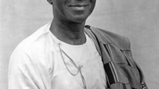 Sylvanus Olympio, premier président de la République du Togo.