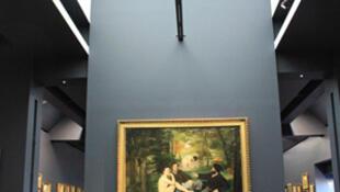 Orsay, phòng triển lãm luân phiên tranh ấn tượng (F. Lesueur)