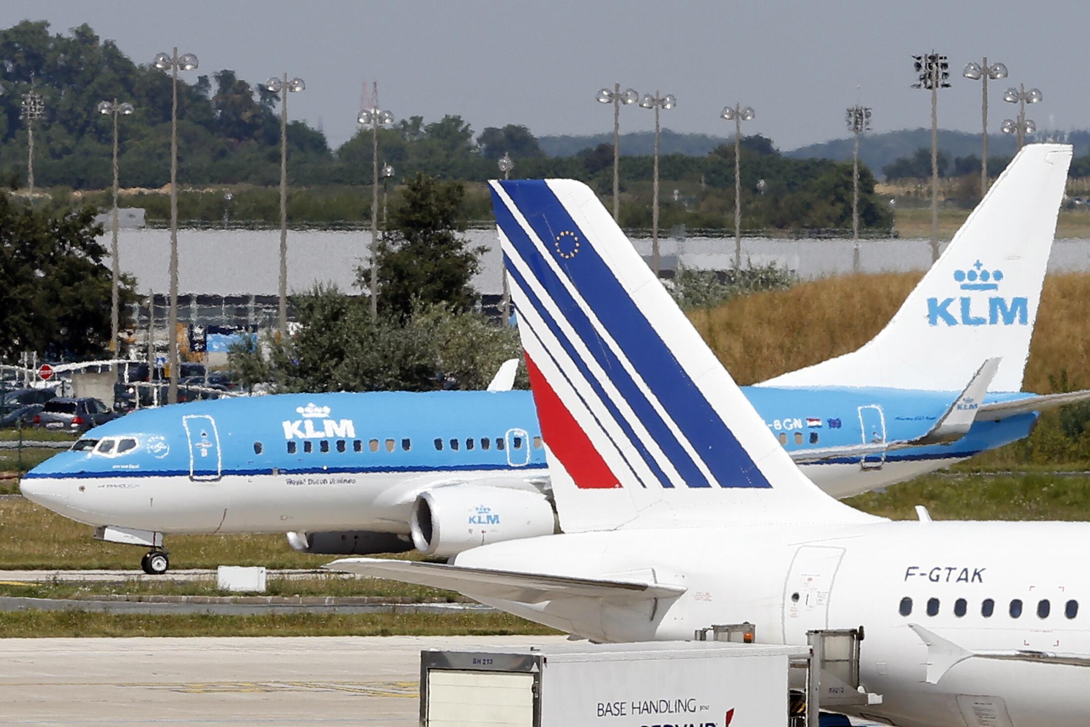 В нынешнем году альянс AIR FRANCE-KLM потерял большую часть прибыли из-за протестов французских работников