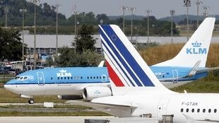 Air France and KLM merged in 2004