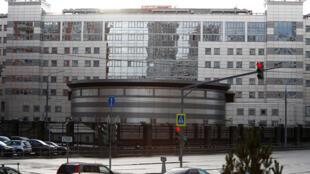 Штаб-квартира ГРУ в Москве (в/ч 45807)
