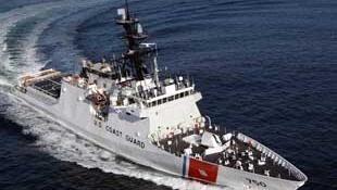 圖為中國網絡刊登美國海警船伯瑟夫號照片