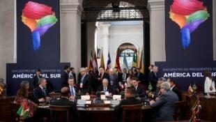 Dos 12 países sul-americanos, oito participam do novo bloco que pretende substituir a falida UNASUL.