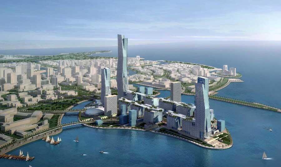 """پروژه ابر شهر """"نئوم"""" قرار است در صحرای سینا برپا شود"""