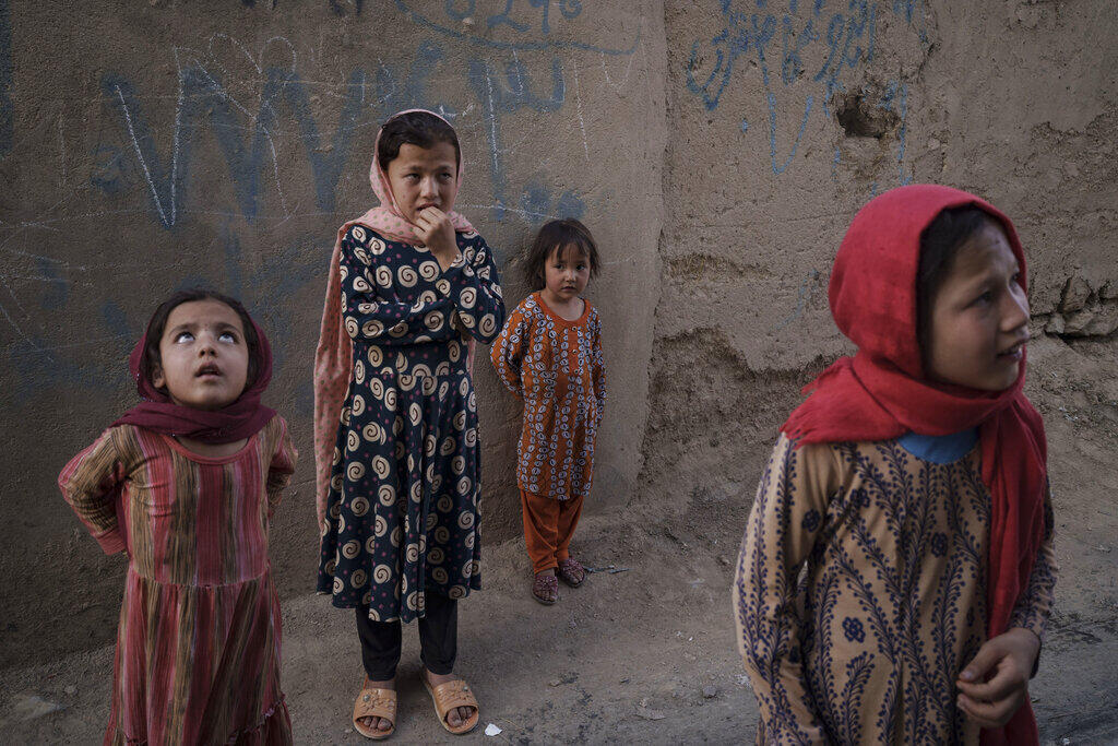 Afeganistão meninas