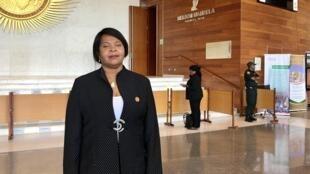Elsa Pinto, Ministra dos Negócios Estrangeiros, Cooperação e Comunidades de São Tomé e Príncipe
