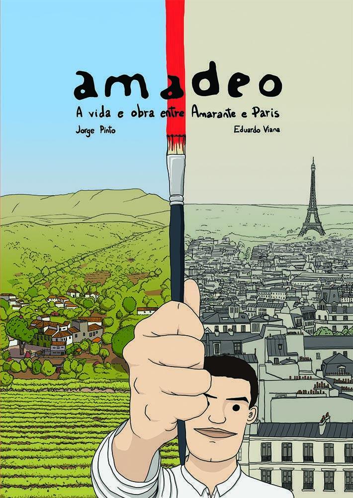 """Livro """"Amadeo  - A vida e a obra entre Amarante e Paris"""""""