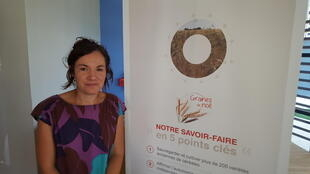 Hélène Montaz, animatrice technicienne de l'association Graines de Noé