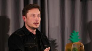 Elon Musk, le PDG de Tesla, à Los Angeles, le 17 mai 2018.