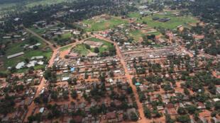 Maeneo mengi yameathiriwa katika mkao makuu ya Mkoa wa Ubangi Kaskazini, Gbadolite.