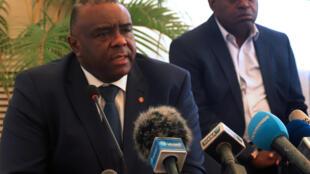 Jean Pierre Bemba, mmoja wa wanasiasa wa upinzani waliochukua fomu ya kuwania urais wa DRC