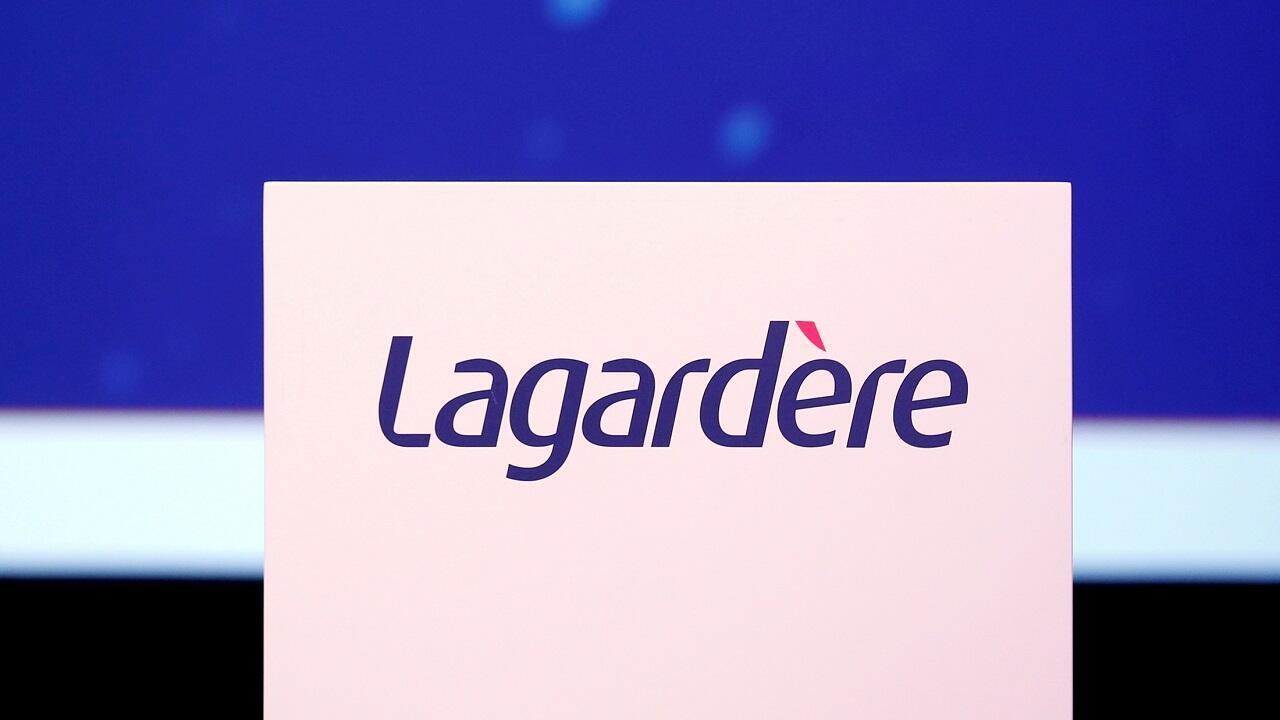 PHOTO Logo Lagardère - 3 mai 2016