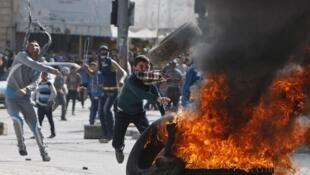 Mouvement de colère à Hébron, le 14 novembre 2014.
