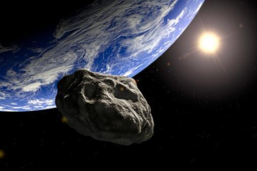 Astéroïde près de la Terre.