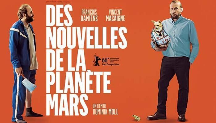 Affiche du nouveau film de Dominik Moll «Des nouvelles de la planète Mars».