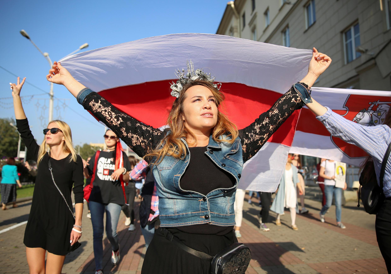 Протестный марш в Минске 26/09/2020