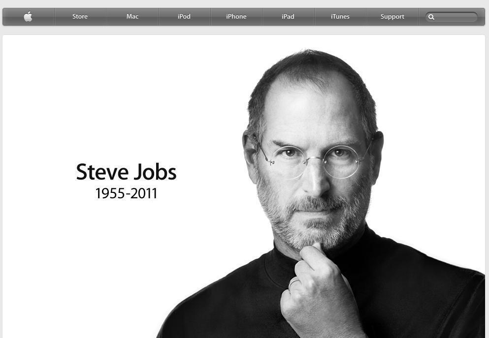 លោក ស្ទីវ ចប (Steve Jobs) ស្ថាបនិកក្រុមហ៊ុន Apple