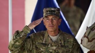 Tsohon kwamandan dakarun Amurka David Petraeus, a Kaboul.