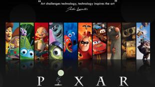 «L'Art défie la technologie, la technologie défie l'Art», John Lasseter, ex-PDG de Pixar.