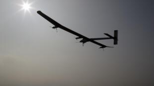 L'avion Solar Impulse, le 24 mai dernier.