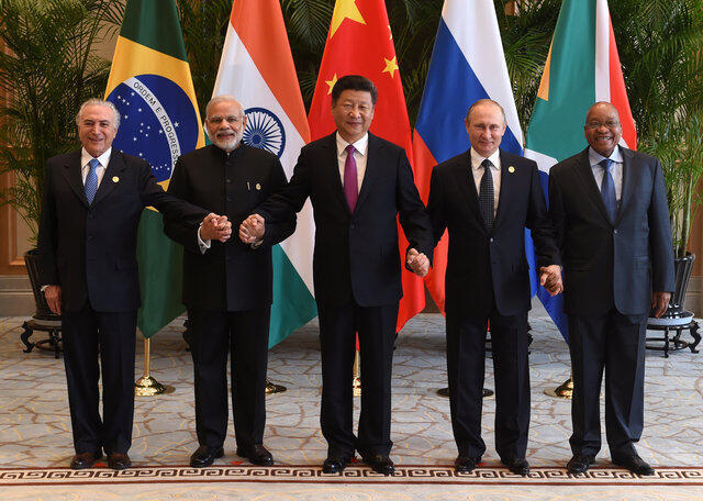 Les leaders du BRICS.