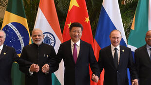 Les leaders du BRICS.