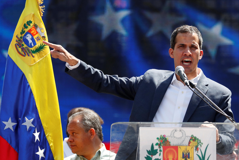 04/02/19- França, Espanha e Reino Unido reconhecem Guaidó como novo presidente interino da Venezuela.elano, Juan Guautoproclamado presidente interino da Venezuela, Juan Guaidó