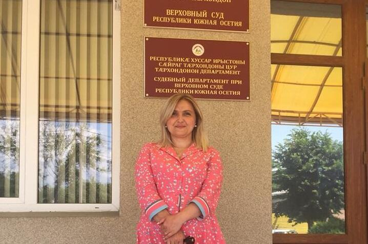 Тамара Меаракишвили. Фото с личной страницы.