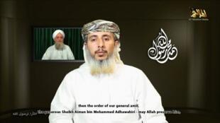 Лидер йеменской ветви Аль-Каиды Нассер бен Али аль-Анси 14/01/2015 (архив)