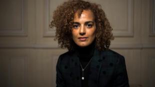 L'écrivaine franco-marocaine Leïla Slimani. Ici en janvier 2018.