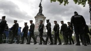 Quarante-huit enquêtes judiciaires ont été ouvertes par la «police des polices» après des accusations de violences policières en France depuis le début des manifestations contre la loi Travail.