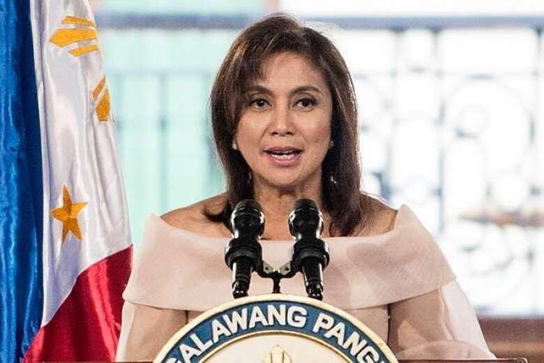 圖為菲律賓副總統羅貝多