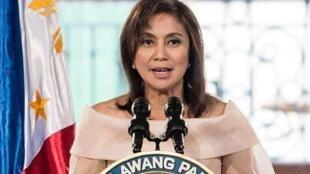 图为菲律宾副总统罗贝多